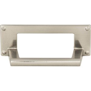 "Atlas Homeware - Bradbury - 3"" Centers Cup Pull in Brushed Nickel"
