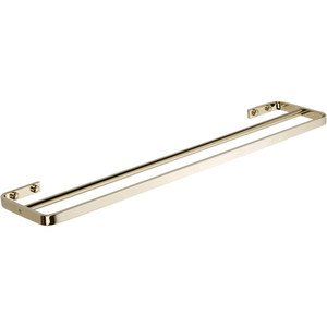 Atlas Homewares - Bath Accessories - Solange Double Towel Bar In French Gold