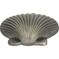 Atlas Homewares - Oceana - Clamshell Knob in Pewter